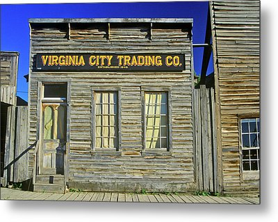 Virginia City Trading Co., Mt Metal Print