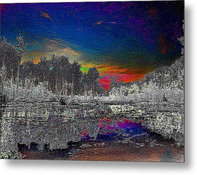 Virginia Landscape Art #1  Metal Print by Digital Art Cafe