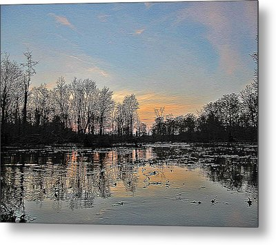 Metal Print featuring the photograph Virginia Landscape Art #1b by Digital Art Cafe