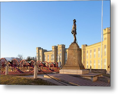 Virginia Military Institute Metal Print by Melinda Fawver
