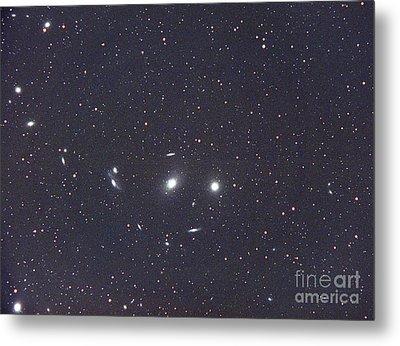 Virgo Galaxy Cluster Metal Print by Chris Cook