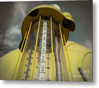 Visible Gas Pump Metal Print