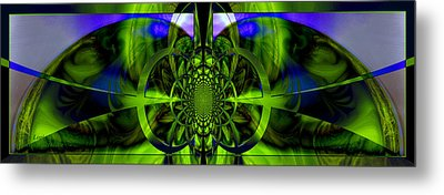 Metal Print featuring the photograph Vision Logic No. 2 by Robert Kernodle
