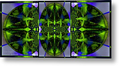 Metal Print featuring the photograph Vision Logic by Robert Kernodle