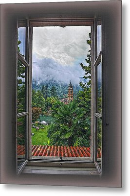 Vision Through The Window Metal Print by Hanny Heim