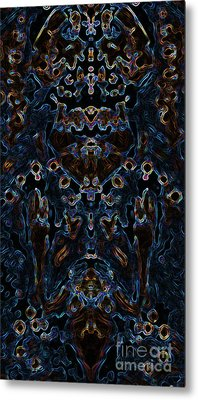 Visionary 3 Metal Print by Devin Cogger