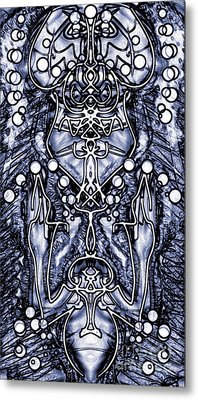 Visionary 7 Metal Print by Devin  Cogger