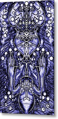 Visionary 8 Metal Print by Devin  Cogger