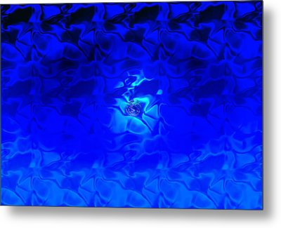 Visions Of Blue Metal Print by Kellice Swaggerty