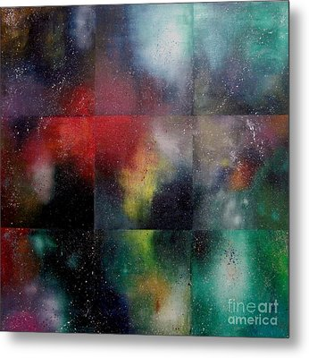 Visions Of Space And Time Metal Print by Jeremy Aiyadurai