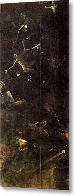 Visions Of The Hereafter - Fall Of The Damned Metal Print