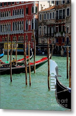 Visions Of Venice 4. Metal Print by Nancy Bradley
