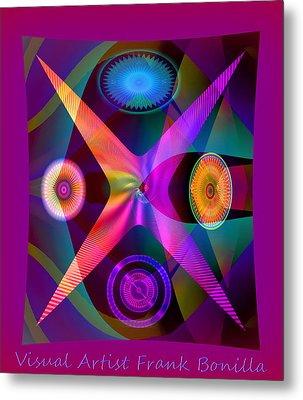 Visions Metal Print by Visual Artist  Frank Bonilla