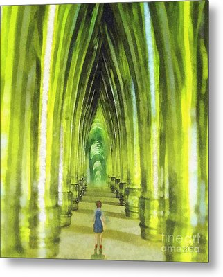 Visiting Emerald City Metal Print by Mo T