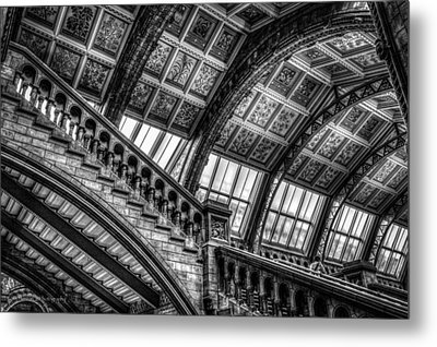 Visitor To The Museum Metal Print