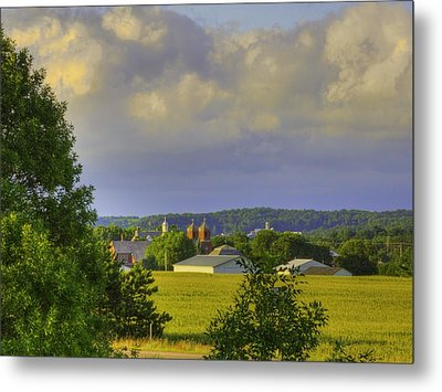Vista At Tildon Wisconsin Metal Print
