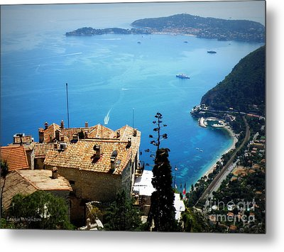 Vista From Eze Metal Print by Lainie Wrightson