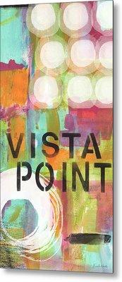 Vista Point- Contemporary Abstract Art Metal Print