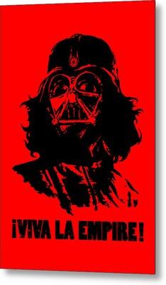 Viva La Empire Metal Print by Vincent Carrozza