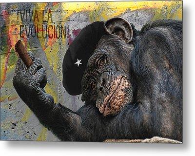 Viva La Evolucion Metal Print by Joachim G Pinkawa