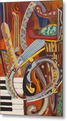 Vivace I Metal Print by Olivia  M Dickerson