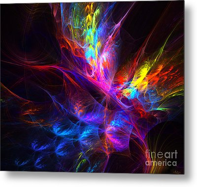 Vivid Imagination Metal Print