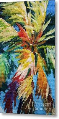 Vivid Palm Metal Print