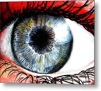 Vivid Vision  Metal Print by Tylir Wisdom