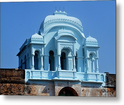 Vizianagaram Forte Metal Print by Johnson Moya