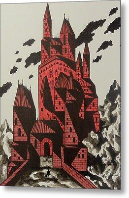 Vlad's Domain Metal Print