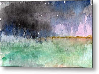 Voices Carry Metal Print by Linda Woods
