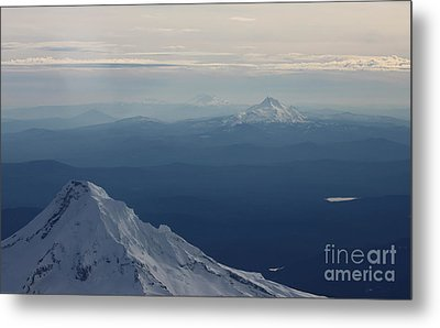 Volcanoes Metal Print by Erica Hanel