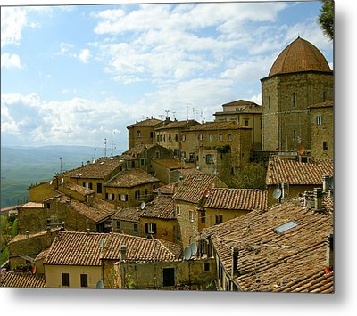 Metal Print featuring the photograph Volterra by Victoria Lakes