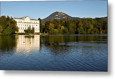 Metal Print featuring the photograph Von Trapp's Mansion by Silvia Bruno