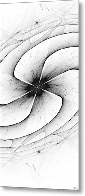 Metal Print featuring the digital art Vortex by Arlene Sundby