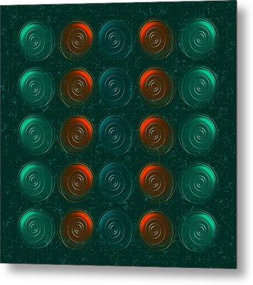 Vortices Metal Print by Anastasiya Malakhova