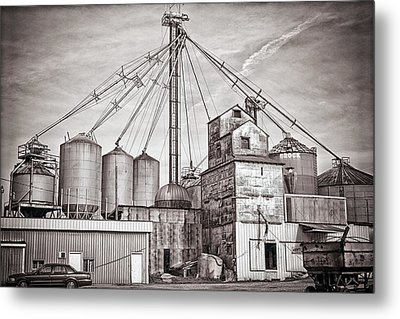Voyces Mill Metal Print by Sennie Pierson