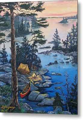 Wabigoon Lake Memories Metal Print