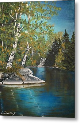 Wabigoon Lake Metal Print by Sharon Duguay
