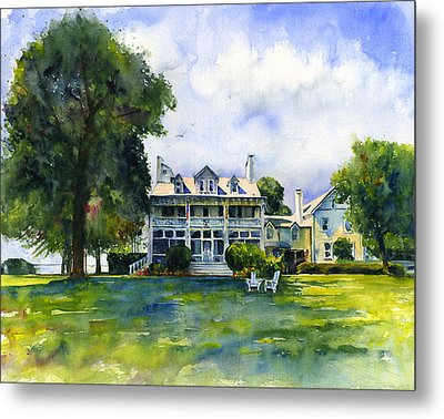 Wades Point Inn Metal Print