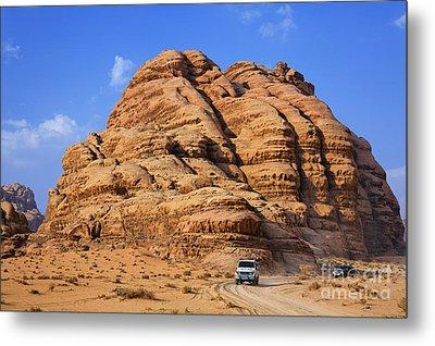 Wadi Rum In Jordan Metal Print by Robert Preston