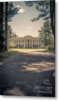 Wadsworth Mansion Middletown Connecticut Metal Print by Edward Fielding