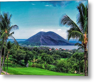 Wailea Golf 6 Metal Print