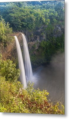 Wailua Falls - Kauai Hawaii Metal Print by Brian Harig