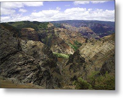 Waimea Canyon2 Metal Print by Joanna Madloch