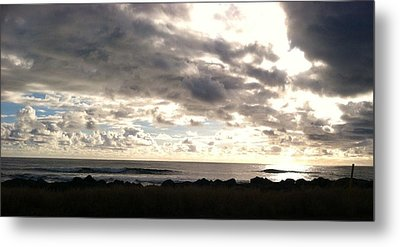 Waimea Sunset II Metal Print