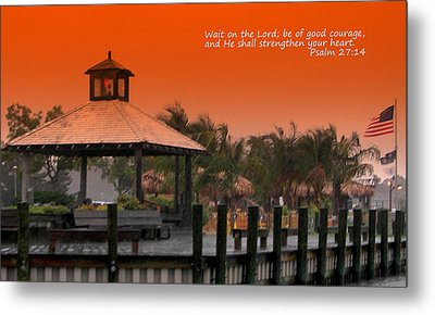 Wait On The Lord Metal Print