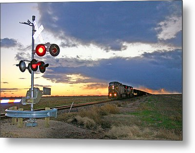 Metal Print featuring the photograph Wait Your Turn by Shirley Heier