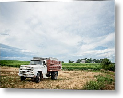Metal Print featuring the photograph Waiting For Harvest by Dawn Romine