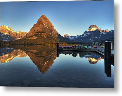 Waiting For Launch Metal Print by Mark Kiver